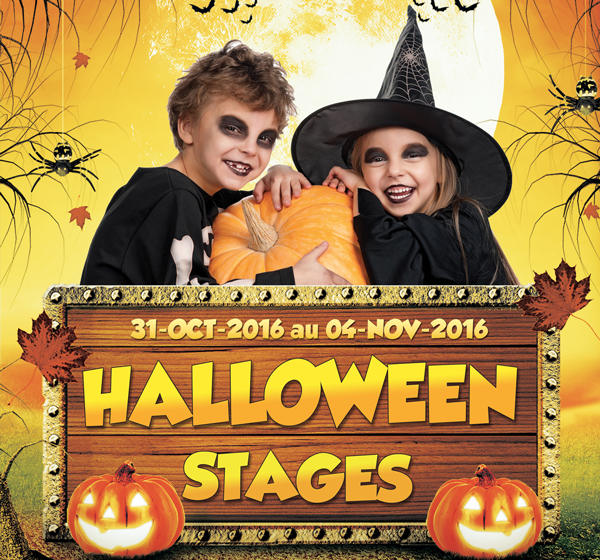Stage d'halloween enfants